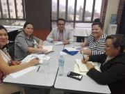 Trabajo grupal de participantes